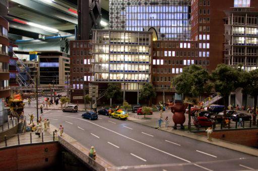 MECF , Modelleisenbahn Club Flawil , City Night Line , Minitatur Wunderland, MECF, Modelleisenbahn Club Flawil