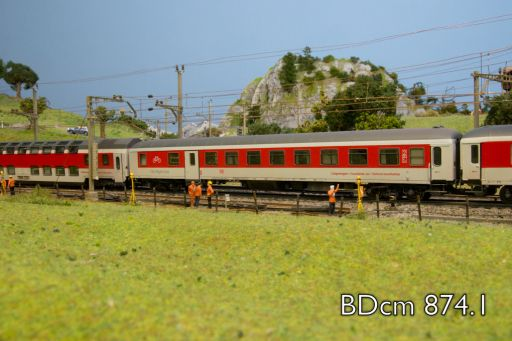 BDcm 874.1, MECF, Modelleisenbahn Club Flawil
