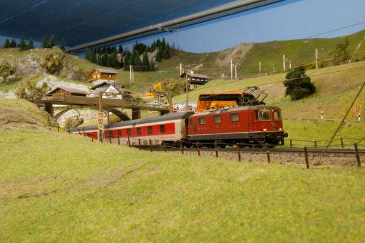 MECF , Modelleisenbahn Club Flawil , City Night Line , Wagenbeleuchtung , Innenbeleuchtung, MECF, Modelleisenbahn Club Flawil